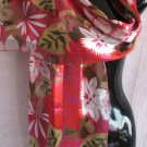 Beautiful Large floral print Scarf, scarves, shawl CafeBug