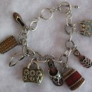 Beautiful Oversized charm Bracelet handbag, shoes,