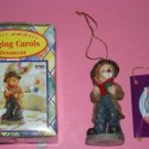 "LITTLE EMMETT JR ""SINGING CAROLS"" ORNAMENT, **NEW**"