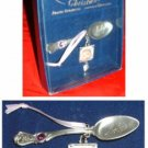 BABY'S 1ST CHRISTMAS SPOON & PHOTO FRAME ORNAMENT *NIB*