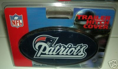 NEW ENGLAND PATRIOTS TRAILER HITCH COVER  *NEW*
