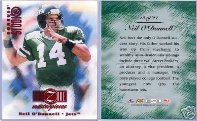 NEIL O'DONNELL RED ZONE STUDIO 8X10 MINT #174/3500