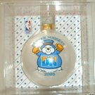 DENVER NUGGETS XMAS ORNAMENT 2005 COLLECTIBLE, **NEW**