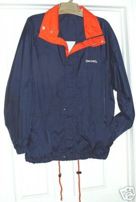 SPALDING WATER-RESISTANT MENS JACKET, SIZE:  MEDIUM  **NEW**