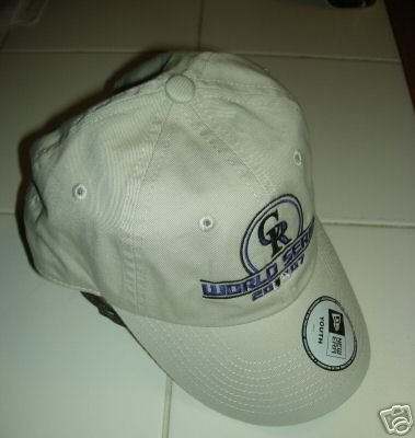 COLORADO ROCKIES WORLD SERIES 2007 YOUTH CAP *NEW*