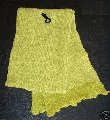 SCARF - GIRLS - ONE SIZE FITS MOST, GREEN **NEW**