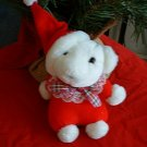 CHRISTMAS BEAR STUFFED ANIMAL **NEW**