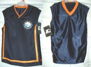 JERSEYS,KIDS REVERSIBLE by STARTER, JR BOYS 4/5 **NEW**