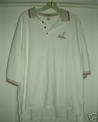SANCTUARY GOLF COURSE EMBROIDERED POLO SHIRT, XL *NEW