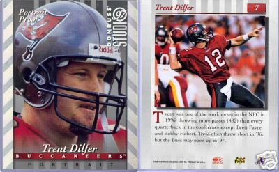 TRENT DILFER '97 STUDIO PORTRAIT PROOF SILV 8X10 MINT