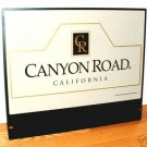 CANYON ROAD, CALIFORNIA WINERY SIGN  - METAL