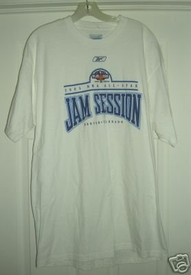 NBA ALL-STAR JAM SESSION 2005 TSHIRT, LARGE *NEW