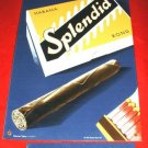 HABANA SPLENDID CIGARS SIGN, WHITE ASH LTD ED #'ed *NEW