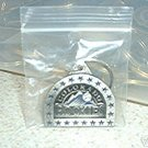 COLORADO ROCKIES PEWTER KEYCHAIN  *NEW*