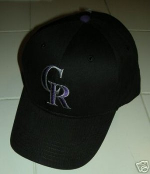 COLORADO ROCKIES BASEBALL CAP,  *NEW*