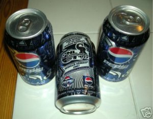 COLORADO ROCKIES PEPSI COMMEMORATIVE WORLD SERIES CAN