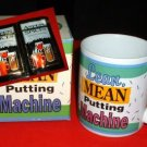 "GOLFER'S MUG:""LEAN, MEAN PUTTING MACHINE"" *NEW IN BOX"