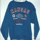 KANSAS UNIVERSITY JAYHAWKS SWEATSHIRT, LARGE **NEW**
