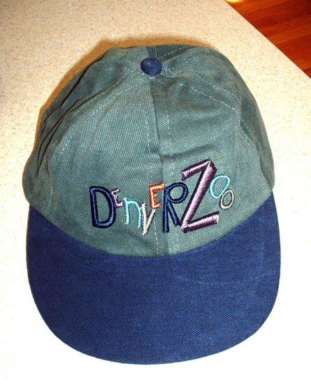 DENVER ZOO SOUVENIR BALL CAP, ONE SIZE FITS ALL  **NEW**