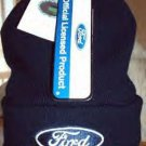 FORD RACING NASCAR KNIT CAP, BLUE **NEW**
