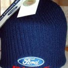 FORD RACING TEAM NASCAR KNIT CAP, NAVY BLUE **NEW**