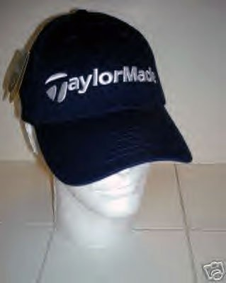 TAYLORMADE EMBROIDERED BALL CAP, BLUE  *NEW*
