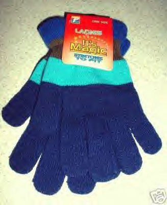 """LADIES MITTENS """"STRETCHES TO FIT"""" - ONE SIZE **NEW**"""