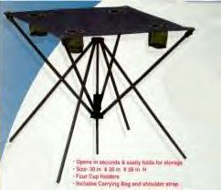 """TAILGATING """"GO ANYWHERE"""" TABLE 30""""X30""""X26""""  *NEW*"""