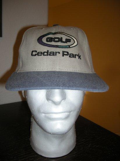 CEDAR PARK GOLF EMBROIDERED BALL CAP *NEW*