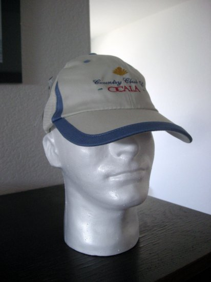 COUNTRY CLUB OF OCALA EMBROIDERED CAP *NEW*