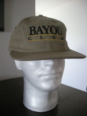 BAYOU GOLF CLUB EMBROIDERED CAP  *NEW*