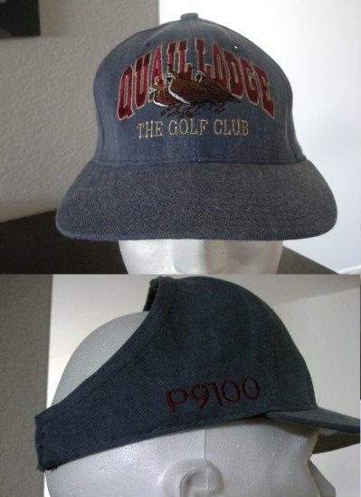 QUAIL LODGE GOLF CLUB EMBROIDERED HALF-CAP *NEW*