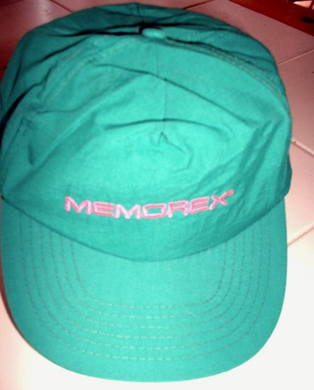 MEMOREX BALL CAP,  ONE SIZE FITS ALL, *NEW*