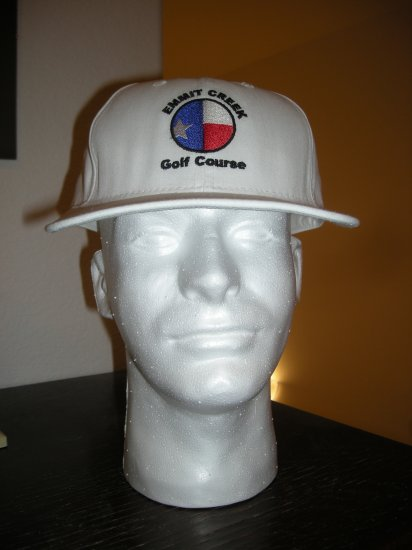 EMMIT CREEK GOLF COURSE EMBROIDERED BALL CAP *NEW*