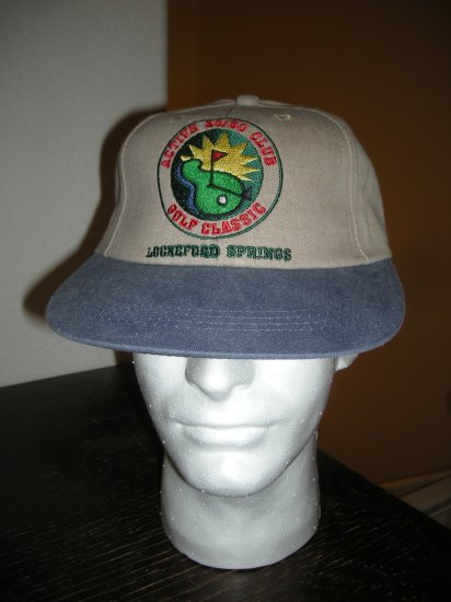 LOCKEFORD SPRINGS 20/30 GOLF EMBROIDERED BALL CAP *NEW*