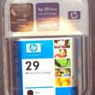 HP 29/51629A BLACK INKJET CARTRIDGE *NEW/FACTORY SEALED