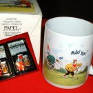 "GOLFER'S MUG: ""BLESS YOU!""  *NEW IN BOX"""