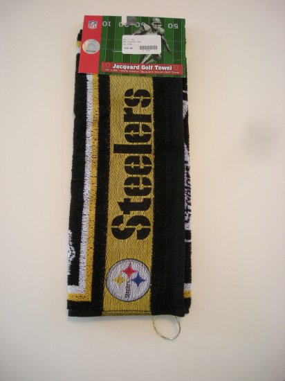 PITTSBURGH STEELERS NFL GOLF/BOWLING TOWEL *NEW