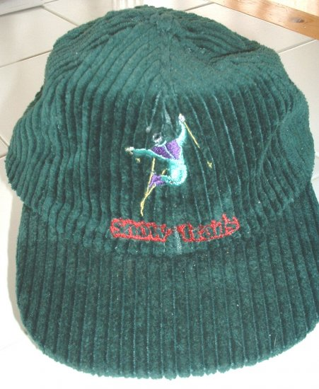 SNOW TRAILS EMBROIDERED ADJUSTABLE BALL CAP  *NEW*