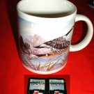 """WILD GEESE IN FLIGHT"" 11oz CERAMIC MUG **NEW **"