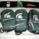 MICHIGAN STATE HEADCOVERS,3 NYLON EMBROIDERD DATREK*NEW