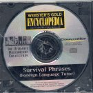 SURVIVAL PHRASES: GERMAN,FRENCH,SPANISH CD *NEW/SEALED*
