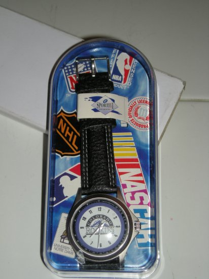 COLORADO ROCKIES COLLECTIBLE WRISTWATCH *NEW*
