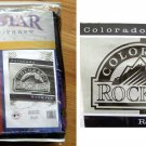 COLORADO ROCKIES MLB BLANKET/THROW 60X50 **NEW**