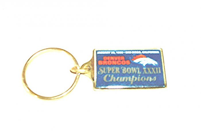 DENVER BRONCOS SUPER BOWL 32 CHAMPIONS KEYCHAIN  *NEW*