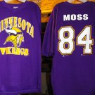 RANDY MOSS MINNESOTA VIKINGS JERSEY, Size:XL  **NEW**