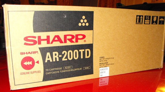 SHARP AR-200TD DRUM/TONER/DEVELOPER KIT **NIB**