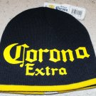 CORONA EXTRA KNIT CAP, BLUE & GOLD   **NEW**