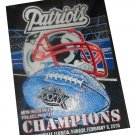 NEW ENGLAND PATRIOTS SUPER BOWL XXXIX CHAMPION BLANKET/THROW