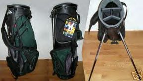 SUN MOUNTAIN SPIRIT GOLF STAND BAG, GREEN/SILV/BLK *NEW